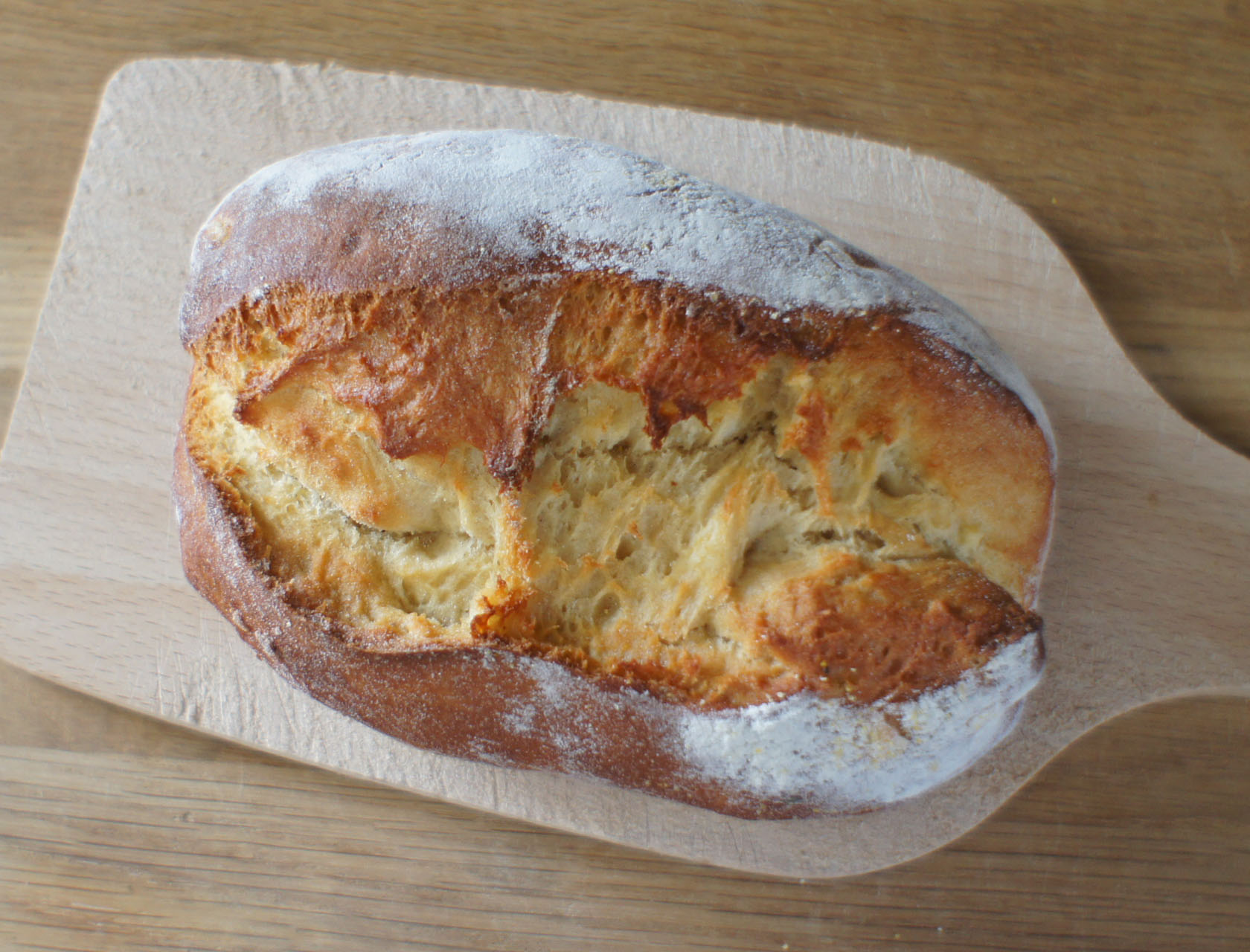 pain du jour pain la farine de pois chiche et au. Black Bedroom Furniture Sets. Home Design Ideas
