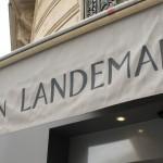 La devanture de la boulangerie Landemaine rue de Clichy