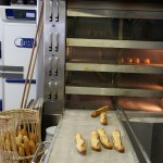 Le fournil de la boulangerie Landemaine, rue de Clichy