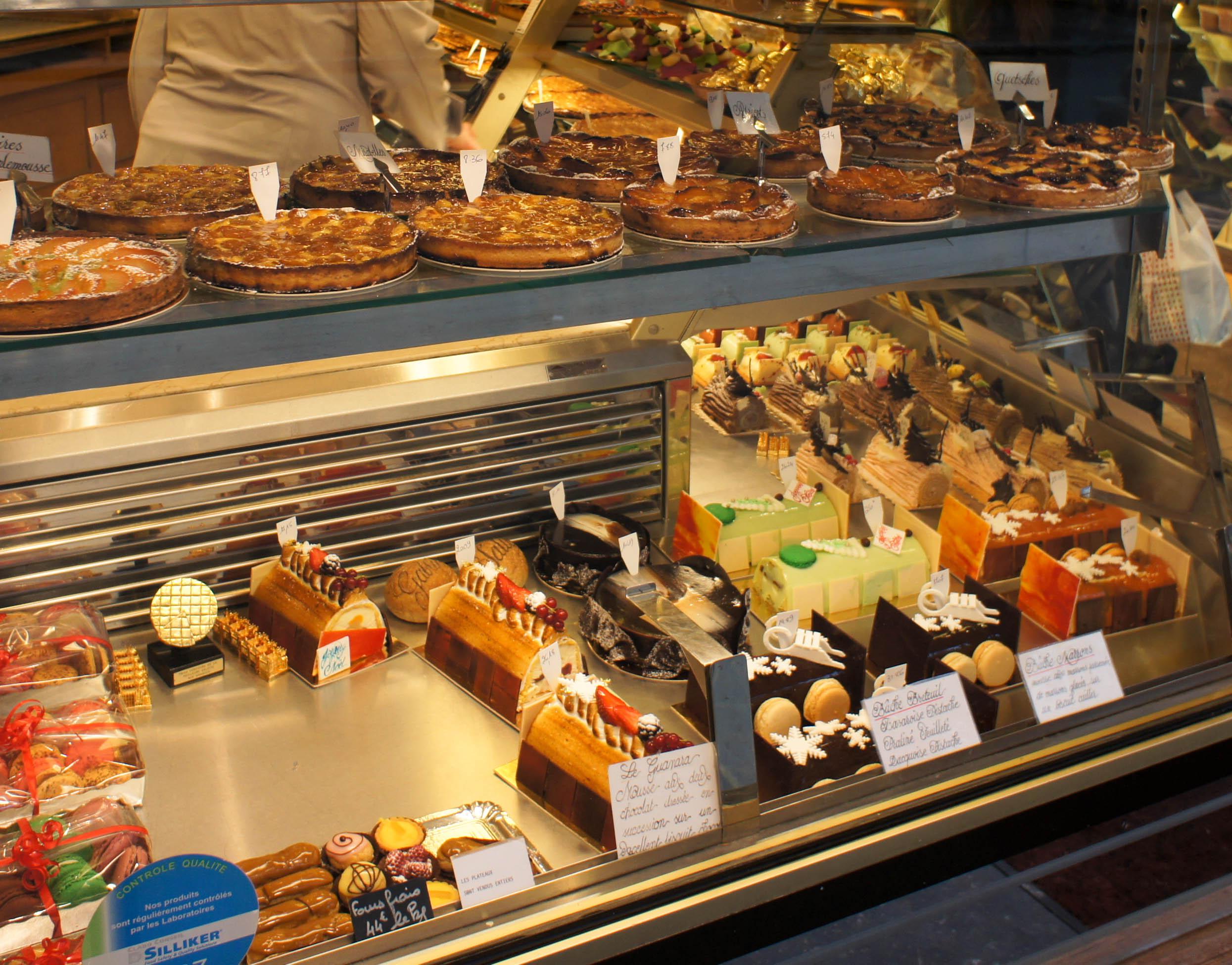 Vue Des Vitrines De La Boutique Boulangerie Pichard