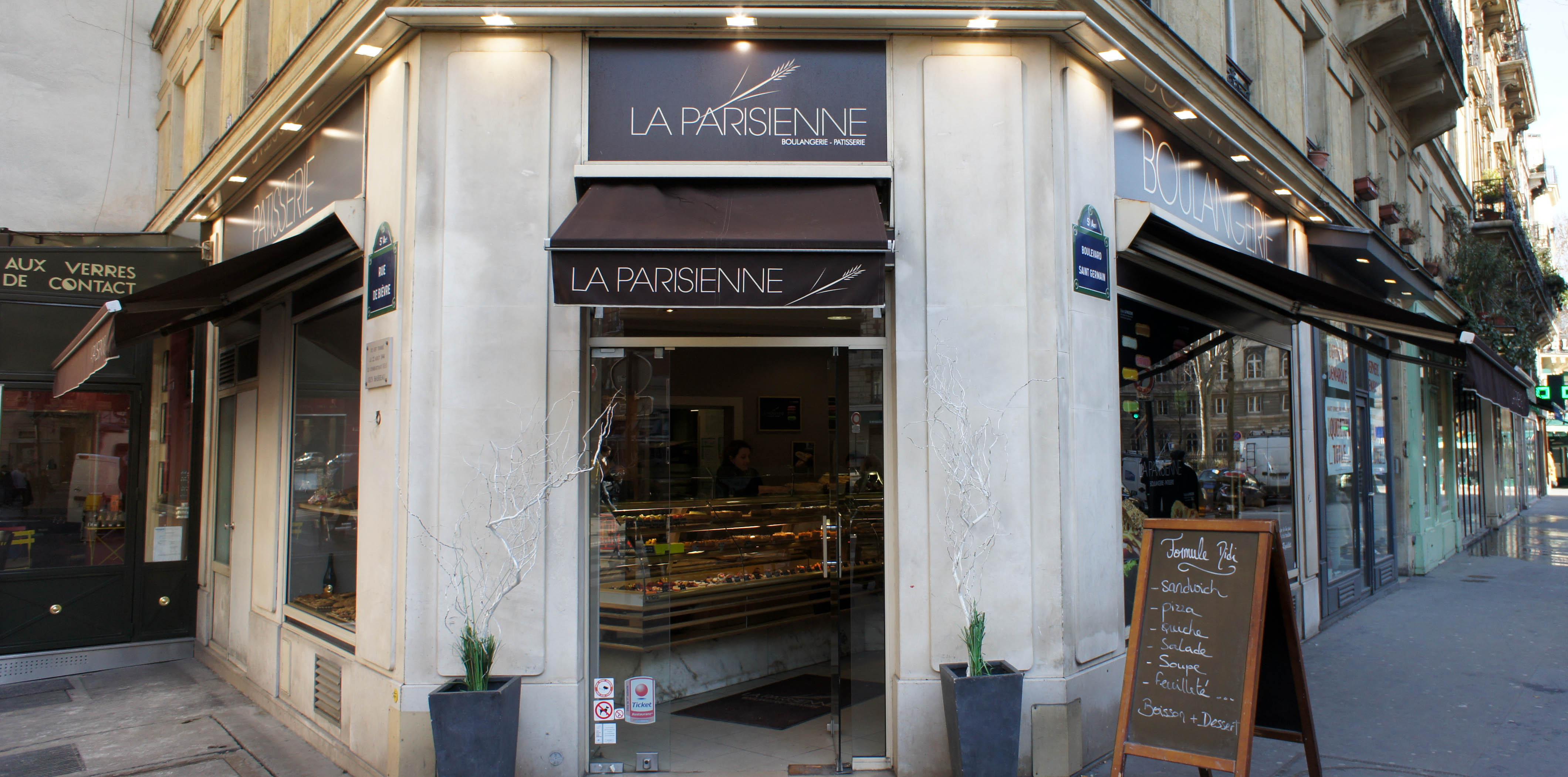 une visite painrisienne la parisienne boulevard saint. Black Bedroom Furniture Sets. Home Design Ideas
