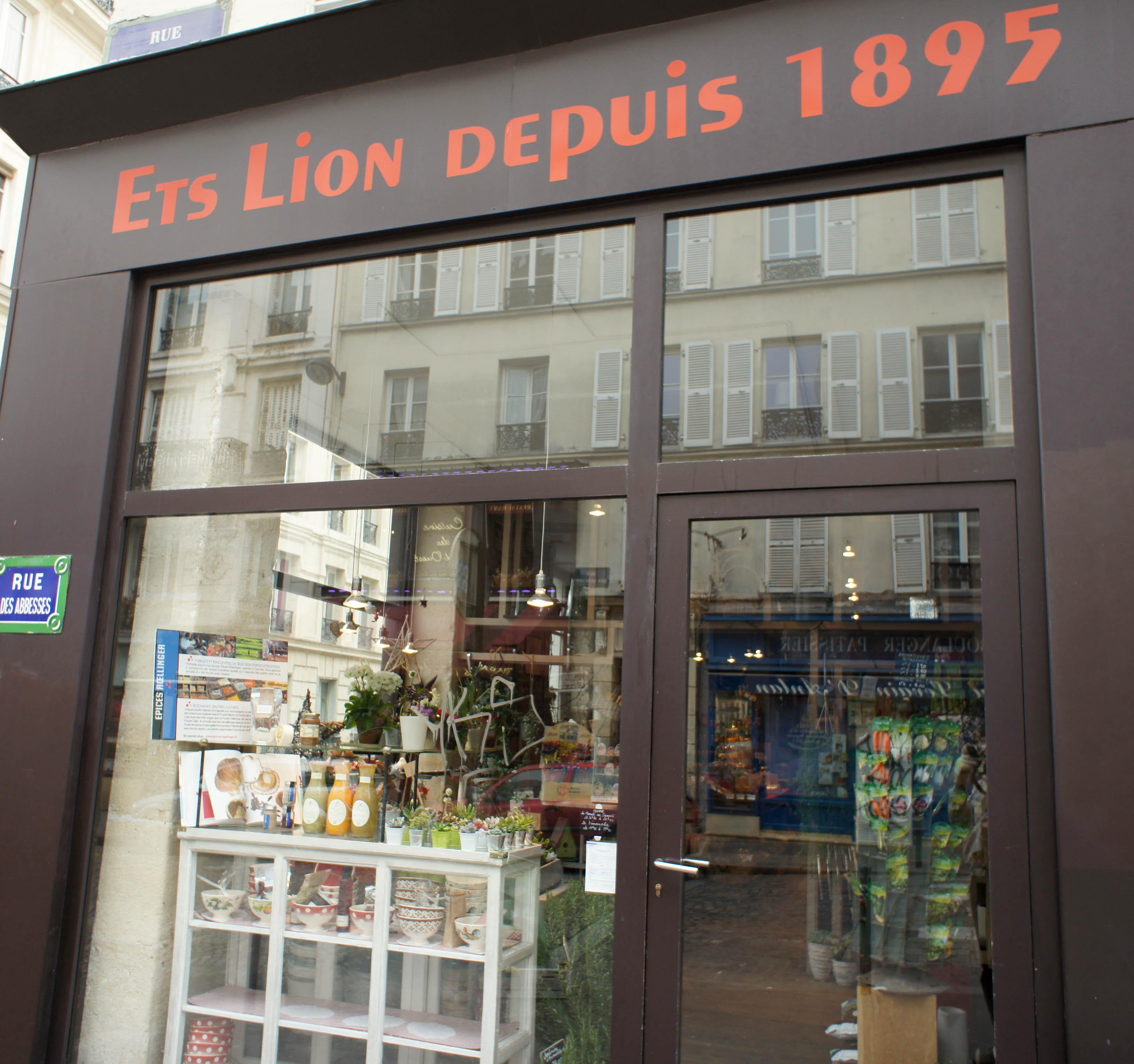 Ets Lion Paris 18 Une Picerie Graineterie Du Potager L