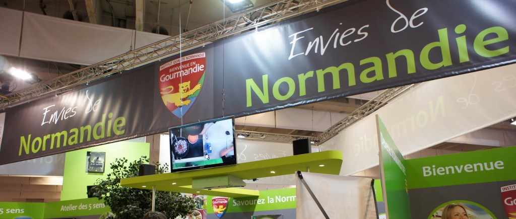 Stand Normandie, Salon de l'Agriculture 2012