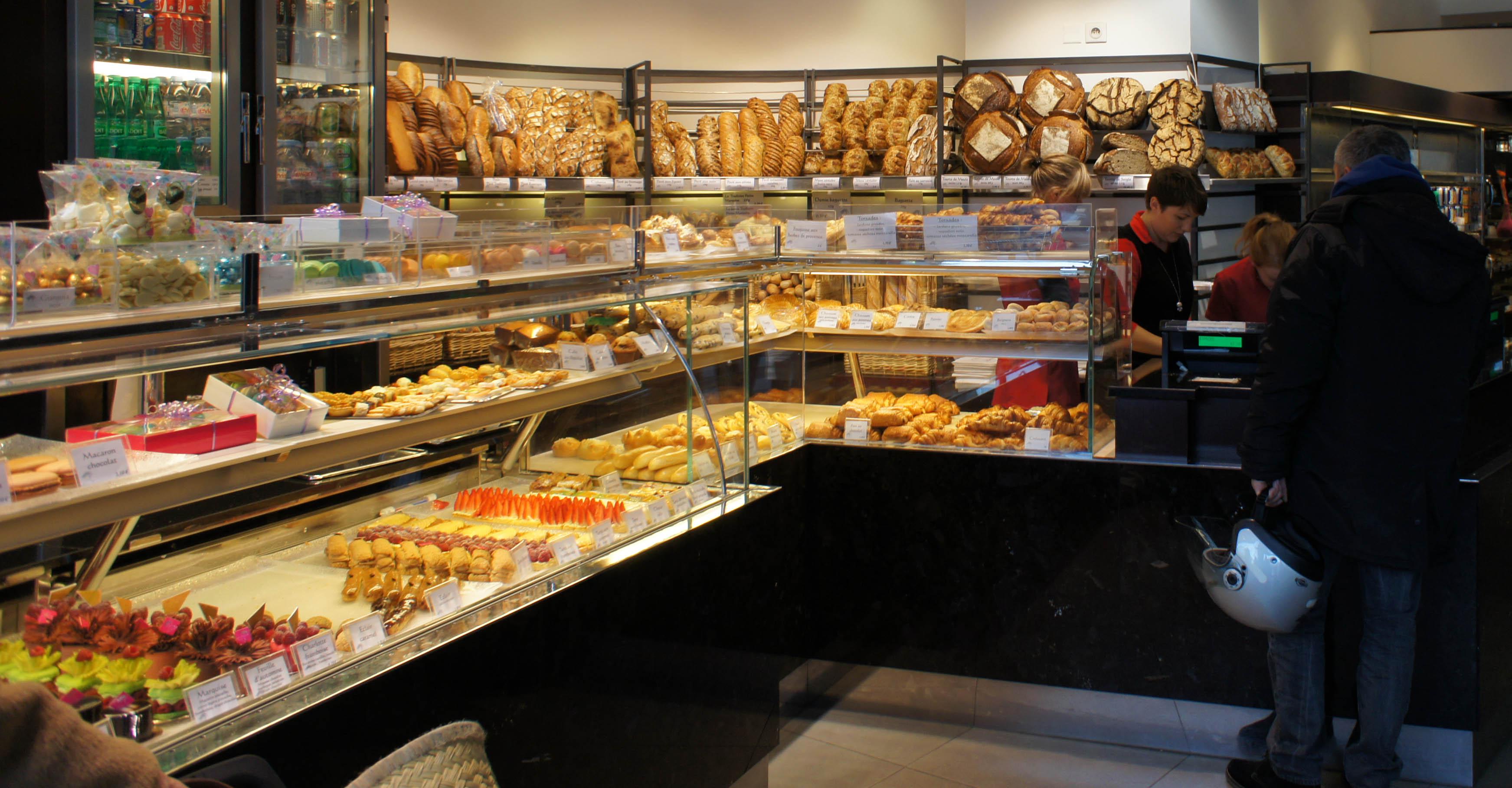 A la Petite Marquise, Paris 16è, le pain de madame est