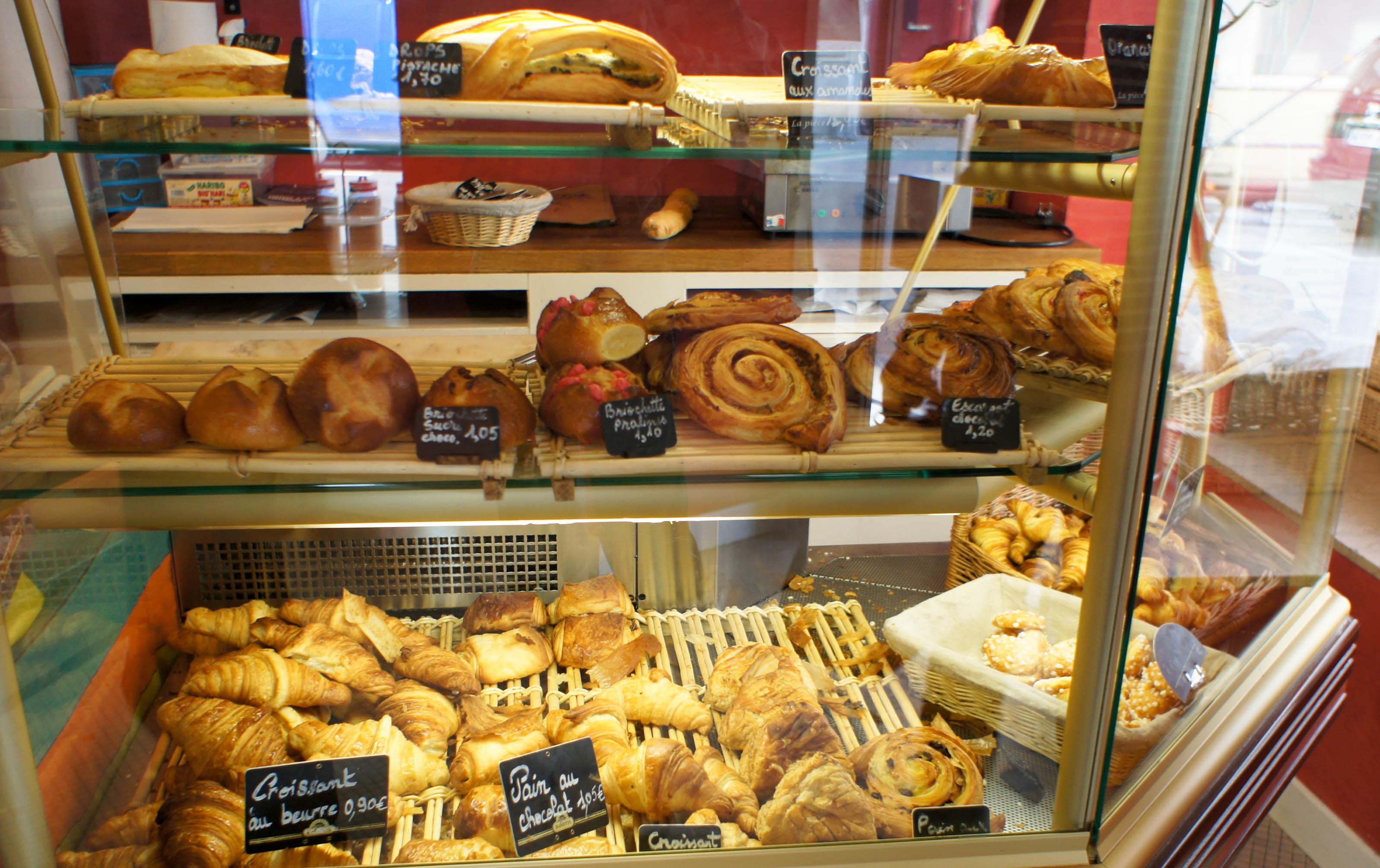 Viennoiserie de boulangerie