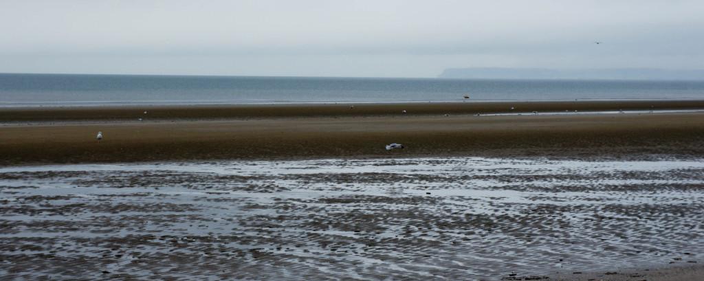 Face à la mer... La solitude est parfois belle, aussi.