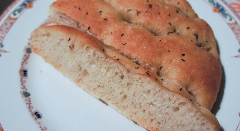 Foccacia, des Gâteaux et du Pain
