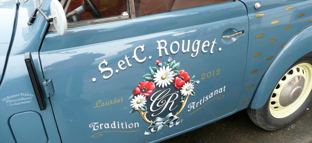 Le décor sur le côté, Juvaquatre Rouget, Beaumont-sur-Oise