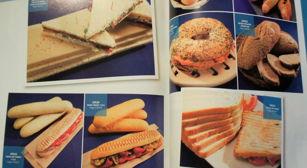 Ne reculons devant rien : la gamme s'étend aussi du côté des pains, et notamment pour la restauration rapide.