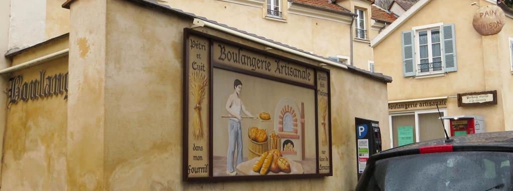 Illustration à l'extérieur du magasin, Au Pain du Cardinal, Rueil-Malmaison (92)