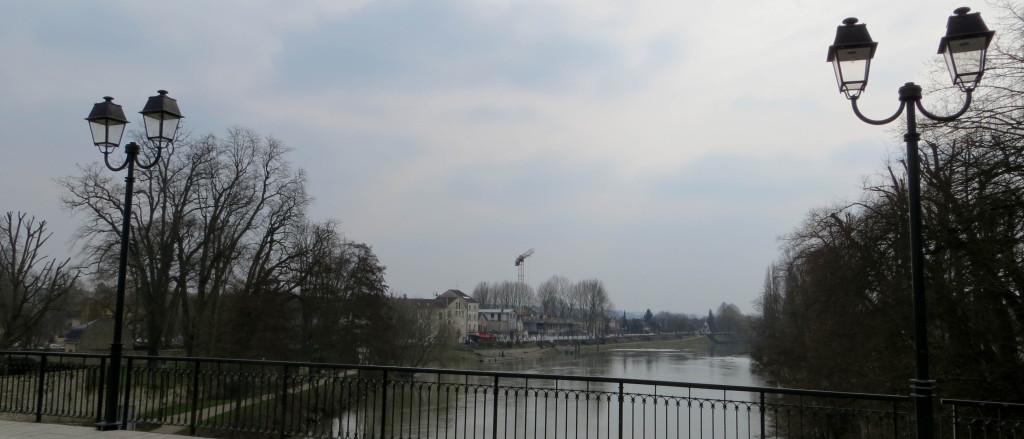 Sur l'Oise...