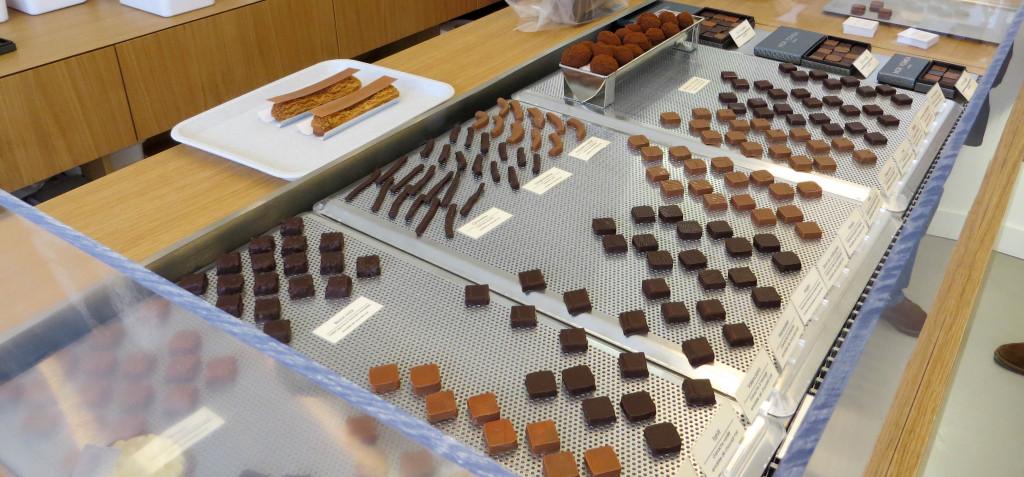 Les bonbons de chocolat