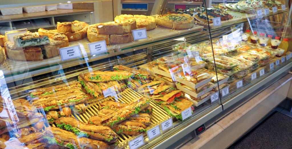 Sandwiches et en-cas, Carton - Huré, Paris 16è