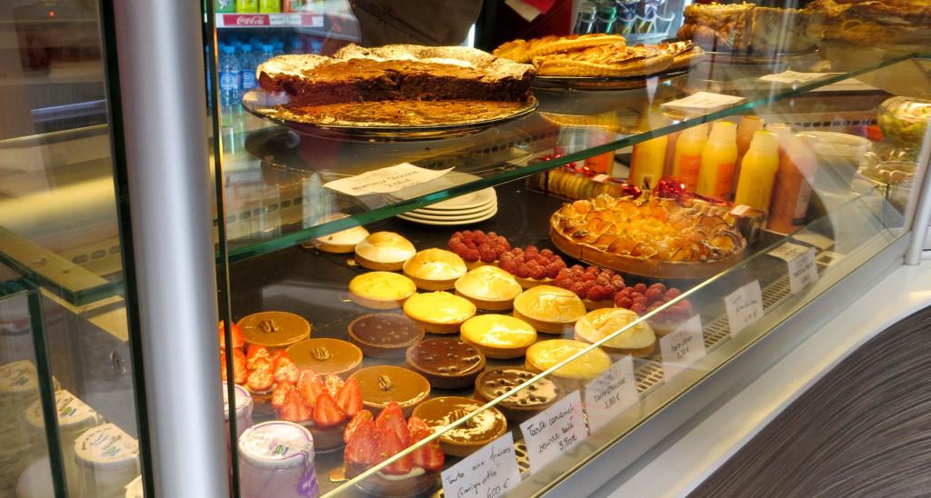 Les pâtisseries, La Mie des Amis, Paris 16è