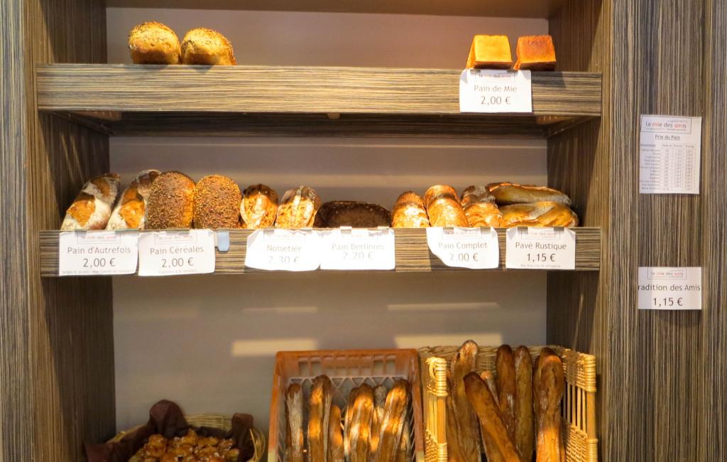 Les pains, La Mie des Amis, Paris 16è