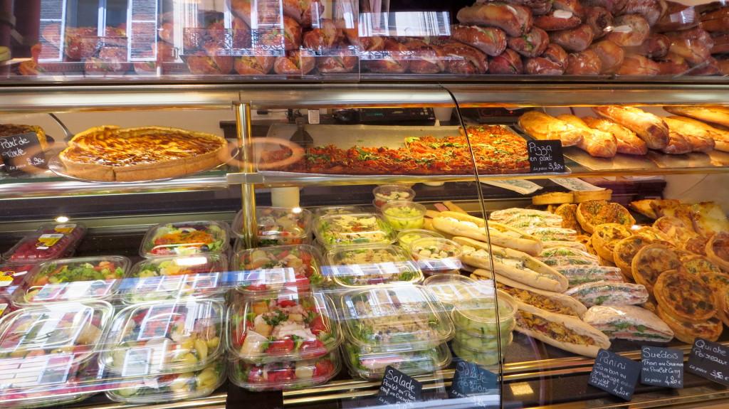 Salades, quiches, pizzas & sandwiches, Stéphane Secco, rue de Varenne, Paris 7è