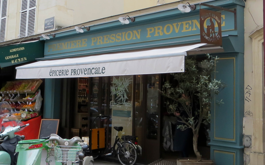 Première Pression Provence Marais, Paris 4è
