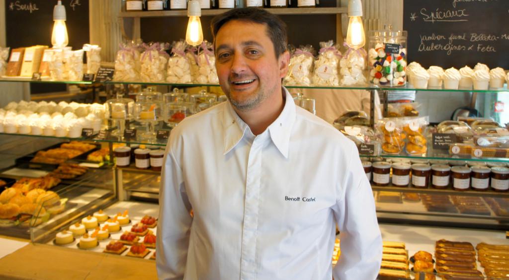 Benoît Castel, toujours le sourire aux lèvres, dans sa boutique du 42 rue Jacob.