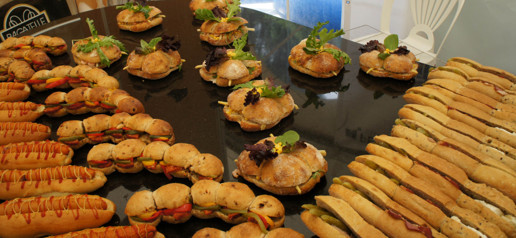 Formes, saveurs, couleurs... Rien ne manque dans ces oeuvres de snacking réalisées par l'équipe du CFA de Bourges !
