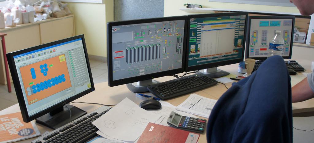L'ensemble des cellules sont gérées de façon informatisée, avec une supervision en temps réel de la température.