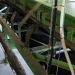 Toujours dans cette optique d'écologie, un système de transport pneumatique a été adopté pour le grain.