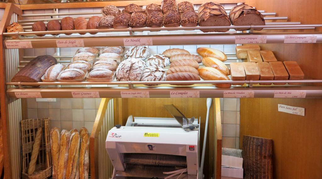 Pains, Boulangerie L'Alliance, Paris 14è