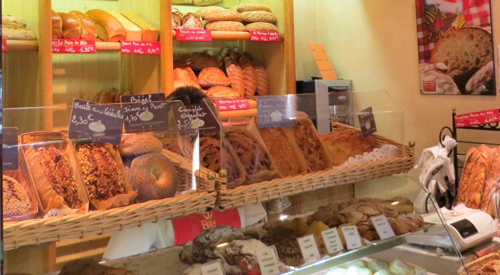 La large gamme de pains