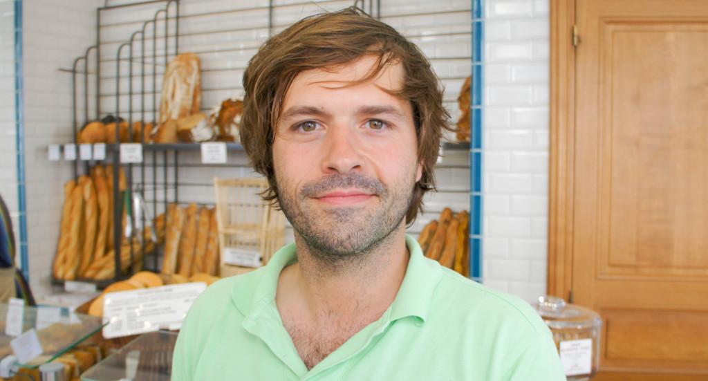 Non, non, Gontran Cherrier n'est pas surfeur comme on pourrait le penser de prime abord... mais bel et bien boulanger !