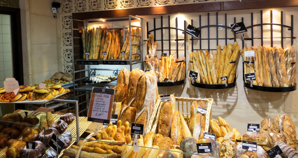 Le secteur pains chez Estaëlle Créteil
