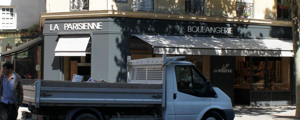 Vue depuis le boulevard, La Parisienne, Paris 5è