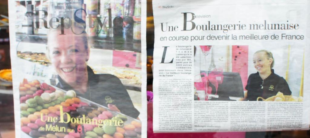 Journal local, Boulangerie Lemarquis, Melun (77)