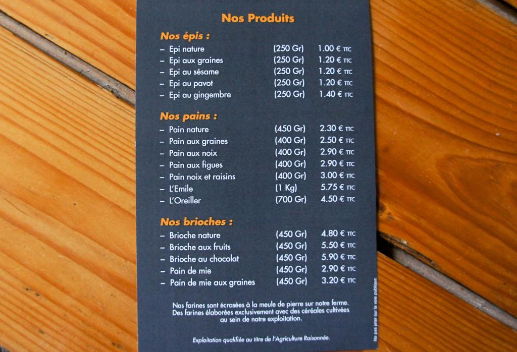 Carte Boulangerie Ange.Remi Painrisien Page 19