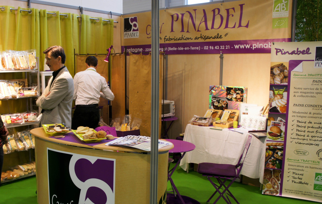 Le Stand Cyril Pinabel, Natexpo 2013, 20-22 octobre, Villepinte
