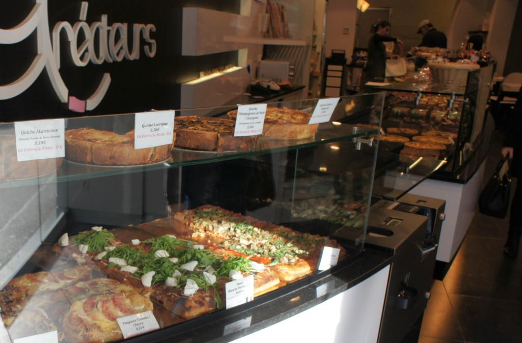 Gamme traiteur : pizzas, quiches, ...