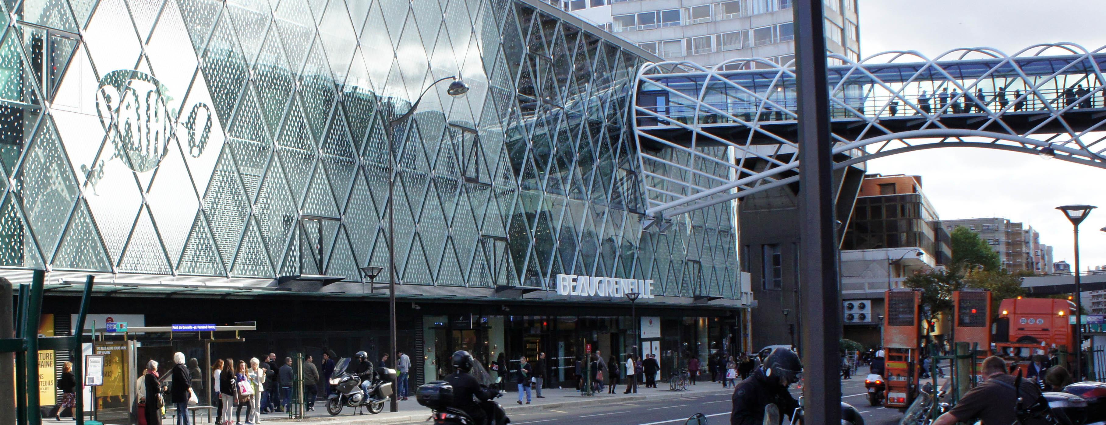 Centre Commercial Beaugrenelle Paris 15 Painrisien