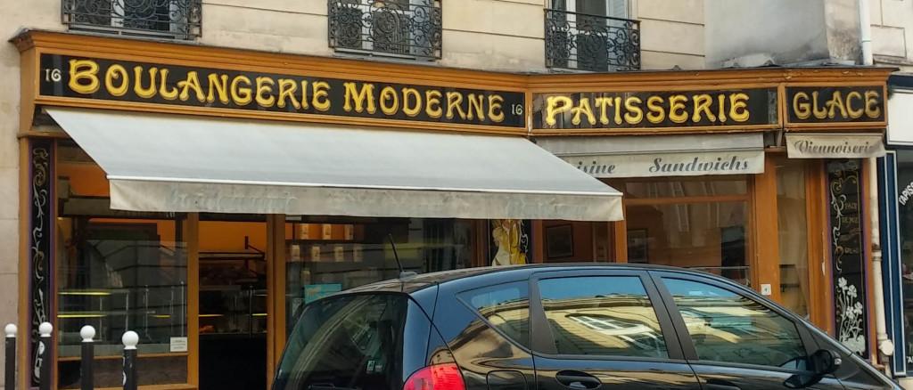 Boulangerie Moderne par Thierry Rabineau, Paris 5è