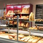La boutique Banette. La bibliothèque des pains ne faisait vraiment pas envie...