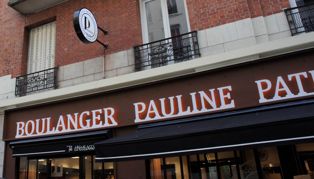 La devanture, Boulangerie Pauline, Paris 19è