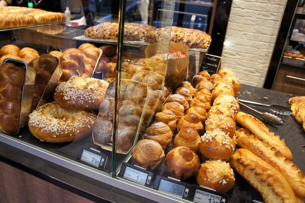 Viennoiseries & brioches, Boulangerie Pauline, Paris 19è