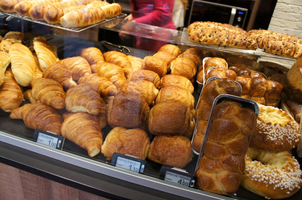 Viennoiseries, Boulangerie Pauline, Paris 19è