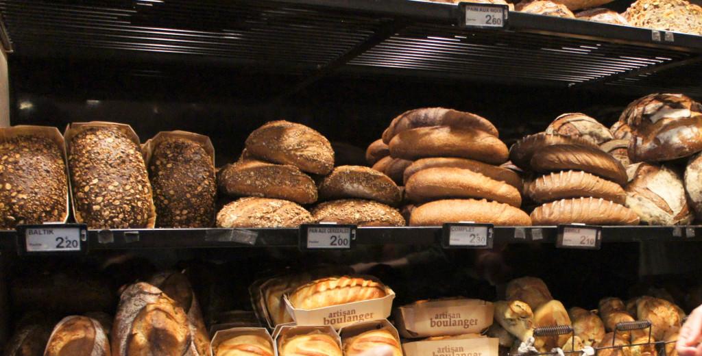 Pains, Boulangerie Pauline, Paris 19è