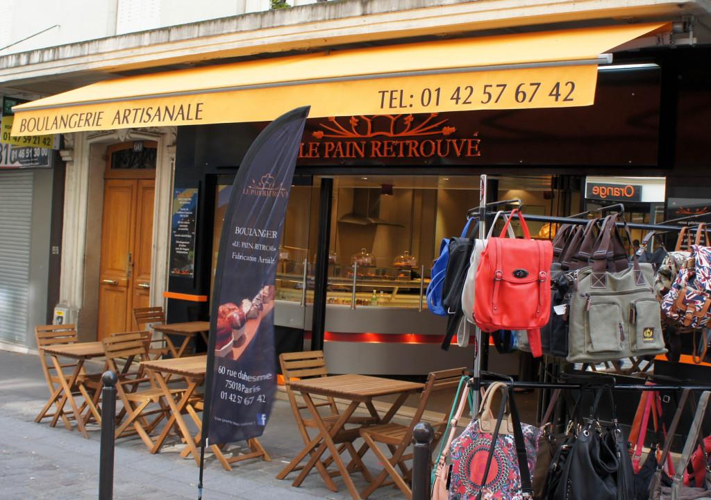 Le Pain Retrouvé, Paris 18è