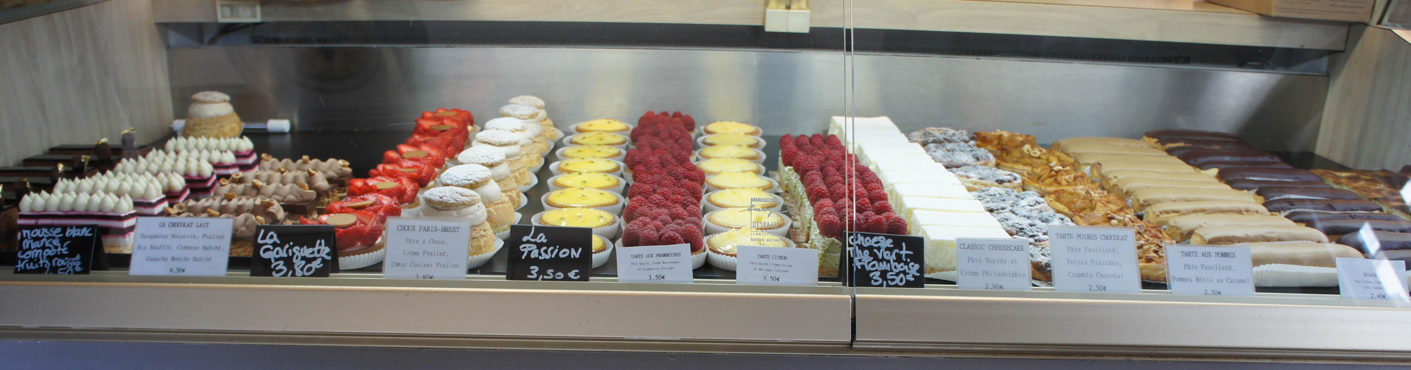Pâtisseries, Boulangerie Utopie, Paris 11è
