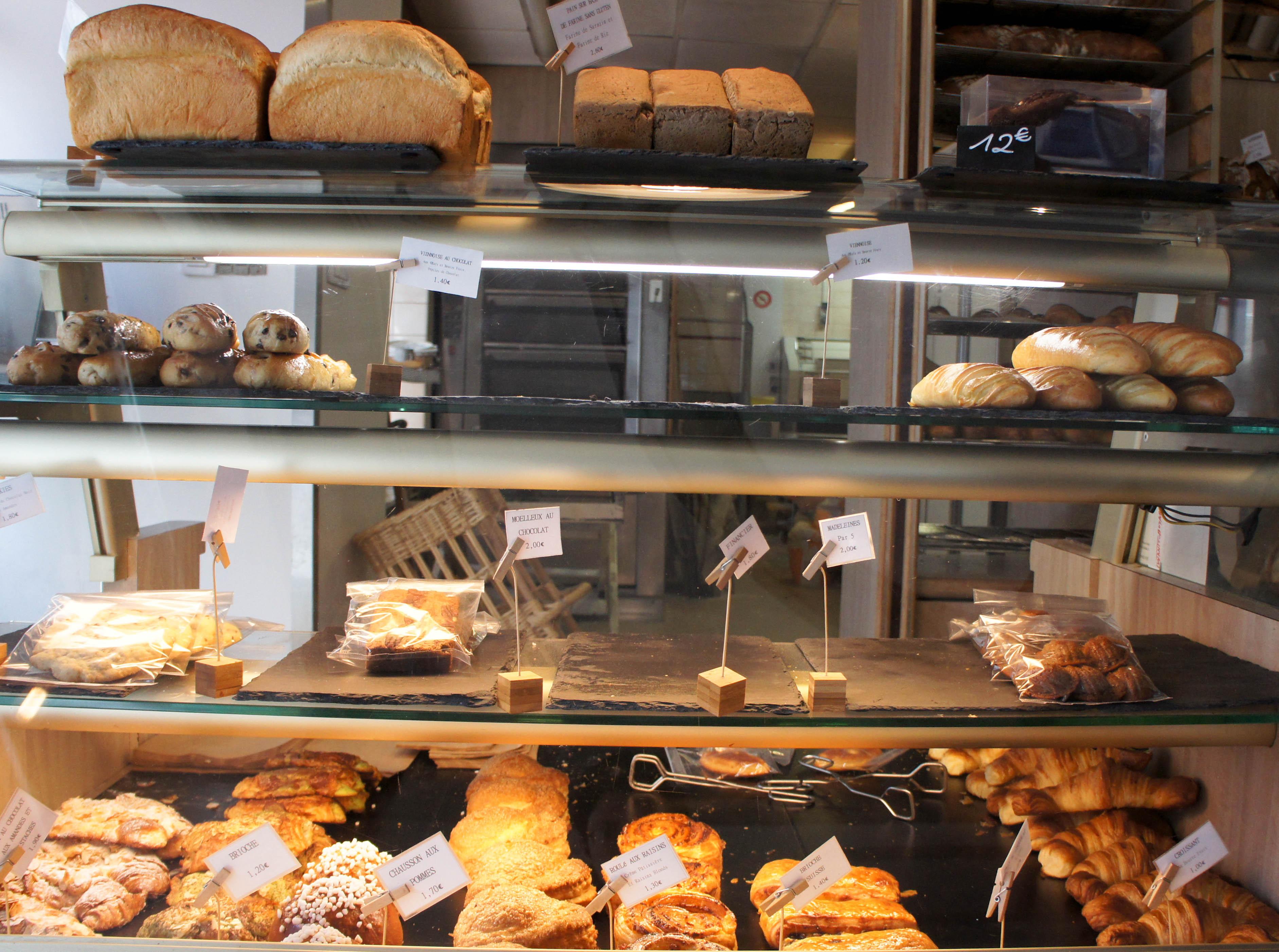 60e58c3ee644b6 Viennoiseries, Boulangerie Utopie, Paris 11è