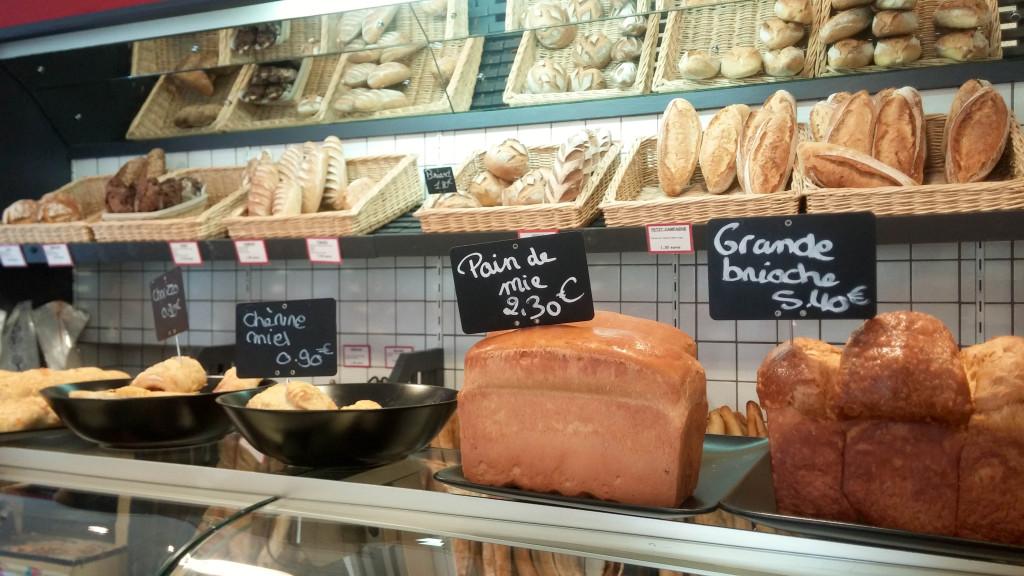 Les pains, L'Artisan des Gourmands, Paris 15è