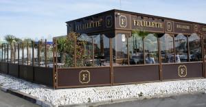 La boulangerie Feuillette de La Chaussée Saint-Victor, aux portes de Blois. Non, nous ne sommes pas sur la côte comme la terrasse et son agencement pourraient le faire croire !