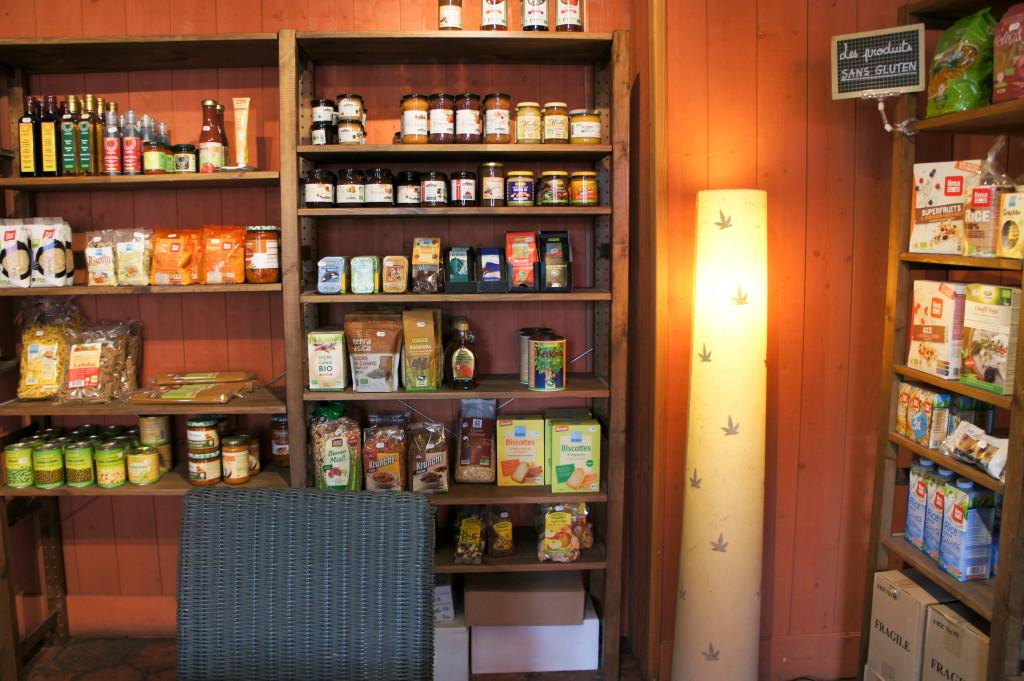 L'espace épicerie