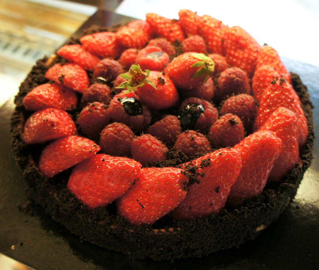 Les tartes aux fruits rouges... ce n'est qu'en saison!