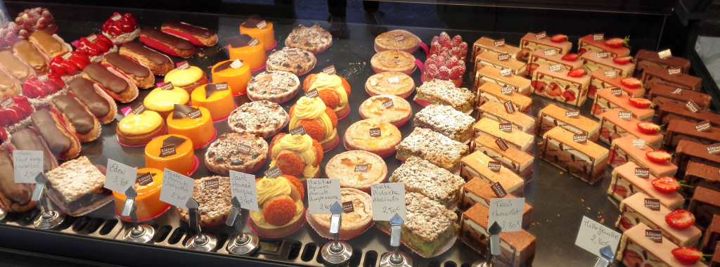 Les pâtisseries, Boulangerie Méline, Compiègne (60)