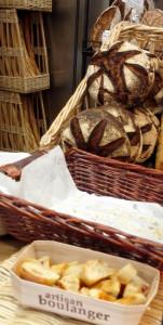 Plusieurs produits sont proposés en dégustation permanente